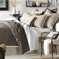 Daphne Button-Tufted Bedding Collection