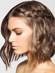 Você+disse+penteados+?+Selecionamos+muitas+fotos+de+penteados+simples+e+lindos+,+em+cabelos+curtos+,+para+você+se+inspirar.+Penteados+par...