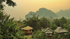 Local village Vang Vieng in Laos Laos, Backpacking, Travel Inspiration, Cool Pictures, Travel Tips, Places To Visit, Asia, Explore, Adventure