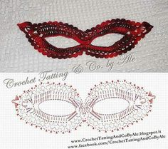 Crochet Lace Mask