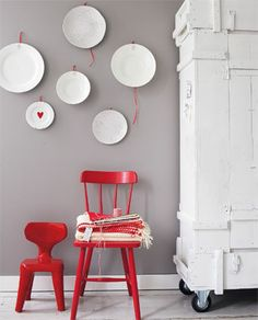 1000 images about interieur rood on pinterest red walls red and interieur - Muur hutch ...