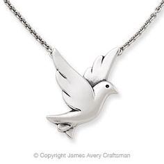 James Avery Bird in Flight Necklace