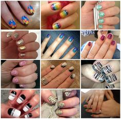 All of these styles, and more are nail wraps by Jamberry Nails!  About 30 minutes and your Jamicure is ready to go, with no dry time!  Perfect design, every time!  (Link will take you to a giveaway on facebook.)
