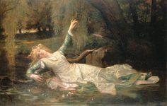 6 - Sir Lawrence Alma-Tadema: Ophelia