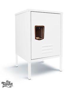 £69  MY-FUNKY-LIFESTYLE-Metal-1-Door-Cube-Locker-Storage