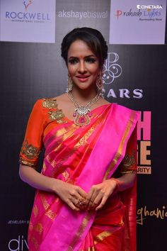 (1) Lakshmi has bewitched us all with her charming... - Shatika - Online Handloom Saree Store