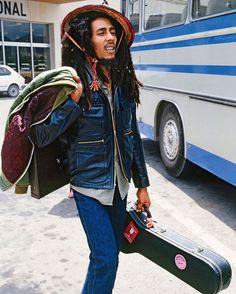 """realgentlemensclub: """"Bob Marley in Ibiza, 1978. """""""