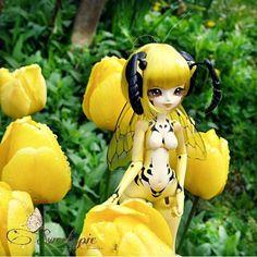 Enaibi Wasp Ethel aka Honey-Drew by Atelier-Cynamon on DeviantArt