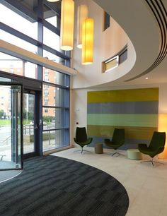 A Refurbishment Interior Design Scheme For This Leeds Office Reception Area The Included