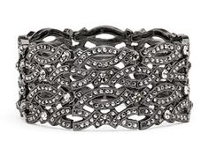 Urban Glam Bracelet.  $44.00  Just love this look.  Classic with a little bit of sassy.