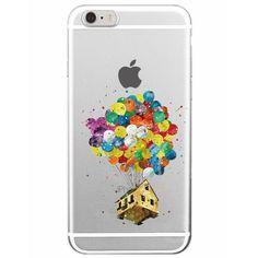 Disney Aquarelle Pixar Up iPhone Case - FREE Shipping