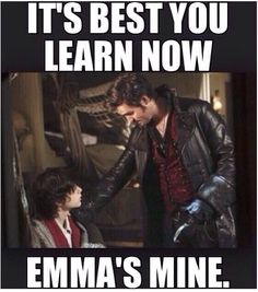 Only to an OUAT fan would this make sense