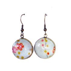 Japanese Chiyogami Drop Earrings - hardtofind.