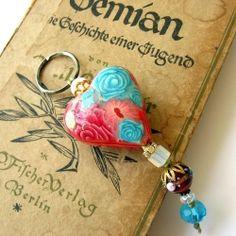 Have a heart - romantic feminine key chain holder