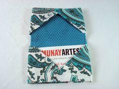 Porta Cartão De Visitas Arabesco Verde 3  www.munayartes.com