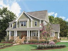 Eplans Craftsman House Plan - Glorious Farmhouse - 2490 Square Feet and 4 Bedrooms(s) from Eplans - House Plan Code HWEPL09758