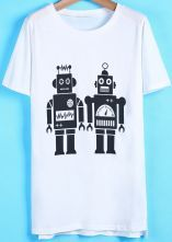 Simple robot shirt :D