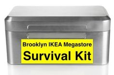 How to Survive the Brooklyn IKEA Megastore: DIY Style - The IKEA megastore in Red Hook, Brooklyn is a wonderful option for those New Yorkers on a budget tha. Red Hook, Bergen County, Survival Kit, Real Estate Marketing, Brooklyn, Ikea, Budget, Cool Stuff, Diy