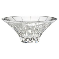 Marquis By Waterford Sheridan Flared Bowl Size: 10 inches. Marquis By Waterford Sheridan Flared Bowl Light Clear Waterford Marquis, Waterford Crystal, Contemporary Decorative Bowls, Contemporary Style, Home Decor Vases, Crystals In The Home, Crystal Design, Decorative Accessories, Clear Glass