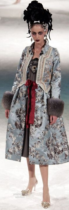 Christian Lacroix Fall 2005 Couture                                                                                                                                                     More