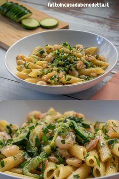 Penne, Rigatoni, Ricotta Pasta, Pasta Sauce Recipes, Diy Food, Summer Recipes, Pasta Salad, Italian Recipes, Food And Drink