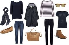 """""""Spring Weekend Away - What I'm Packing"""" by victoriastyle on Polyvore"""