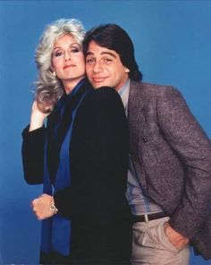 Whos the Boss TV Show - Judith Light as Angela & Tony Danza as Tony Donna And Eric, Luke And Laura, Best Tv Couples, Famous Couples, Boss Tv, Cory And Topanga, Tony Danza, Wife And Kids, Hollywood Actor
