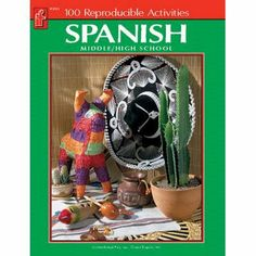 Spanish 100 Book Middle High School No If 8791 By Carson Dellosa 10 03 Iestupendo Great For Teaching Spanish Help Spanish Student Forms Basic Grammar