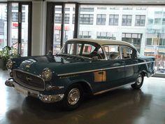 Klassieke Opel in Berlin