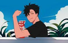 Kuroo Haikyuu, Haikyuu Fanart, Kenma, Haikyuu Anime, Kuroo Tetsurou Hot, Fanarts Anime, Anime Characters, Manga Anime, Anime Art