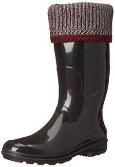 Kamik Womens Lancaster Insulated Rain Boot Burgundy 6 M US *** See this great product.