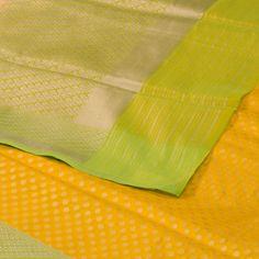 Shivangi Kasliwal Handwoven Banarasi Silk Sari 1008251 - / Shivangi Kasliwal - Parisera