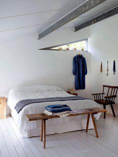 Restful bedroom Norfolk Grain Store