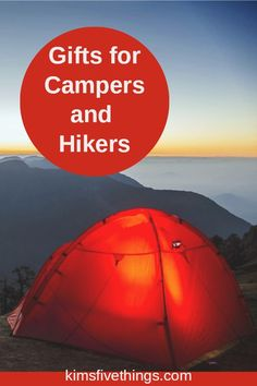 Here are the best hiking and camping gifts for those with a limited budget. Clever ideas for hard to shop for camper and hiker friends and family. Hiking Gifts, Camping Gifts, Camping And Hiking, Family Camping, Camping Hacks, Camping Gear, Camping Items, Camping Guide, Camping Trailers