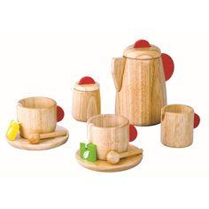 Plantoys Teeset aus Holz bei KidsWoodLove