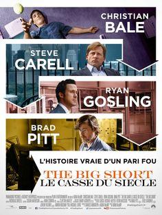 Immersion dans la crise de 2008 avec un casting très juste, ascension rythmée par Adam McKay qui laisse la comédie pour un entre-deux subtil entre drame et documentaire