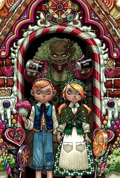 Hansel and Gretel by JJKirby.deviantart.com on @deviantART