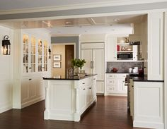 Creamy White Kitchen #Creamy #White #Kitchen -> OMG this could TOTALLY work in our kitchen!!!