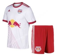 c6708cd17 China Soccer Jersey Suppliers · 2017-18 New York Red Bulls Home White  Thailand Soccer Uniform