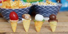 De Lay's Bugles Ijsjesbar.     Willemijn en Martine van 2WMN hebben een leuke vultip bedacht voor jouw Lay's Bugles. Lekker om te delen en cute om uit te delen!  Klik op de afbeelding om dit leuke recept te bekijken!