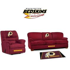 Use this Exclusive coupon code: PINFIVE to receive an additional 5% off the Washington Redskins Microfiber Furniture Set at SportsFansPlus.com