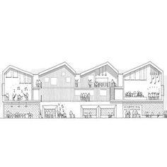 Reiulf Ramstad Arkitekter (@reiulframstadarkitekter) • Instagram-bilder og -videoer Floor Plans, Sketch, Diagram, Drawings, Art, Sketch Drawing, Art Background, Kunst, Sketches