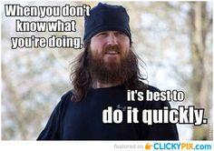 Jase, the voice of reason