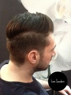 Men's hair 2014 , rounded back section for more shape. Hair By Liam Saunders
