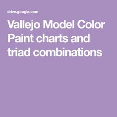 Vallejo Model Color Paint charts and triad combinations Vallejo Paint, Paint Charts, Paint Colors, Miniatures, Painting, Models, Paint Colours, Templates, Color Boards