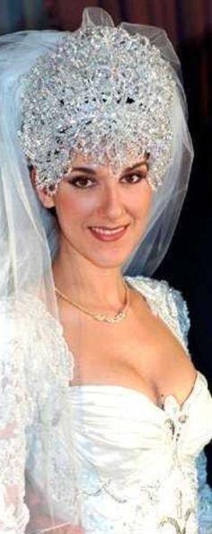 Celine dion celine and bridal headpieces on pinterest - Dressing liefde ...