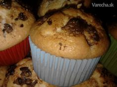 vyskúšala som už veľa rôznych receptov na muffiny, ale tieto boli doteraz najlepšie..