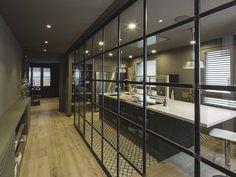 Estudio de restauración y decoración de interiores de viviendas: proyecto realizado para un piso en Gracia.
