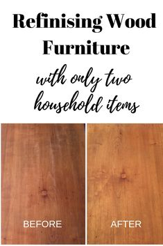 Refinishing Wood Furniture with Only 2 Household Items, how to clean wood and make it shine. Learn this easy trick to clean wood furniture and restore your old furniture again. Cleaning Wood Furniture, Refinish Wood Furniture, Stripping Furniture, Cleaning Painted Walls, Furniture Repair, How To Clean Furniture, Wooden Furniture, Furniture Makeover, Bedroom Furniture