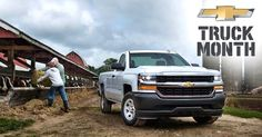 #Silverado knows that some jobs just need a truck. That's why there's Truck Month: http://pbxx.it/BjiluE